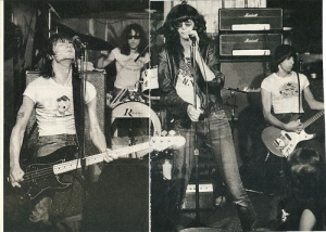 The Ramones at CBGB in NYC